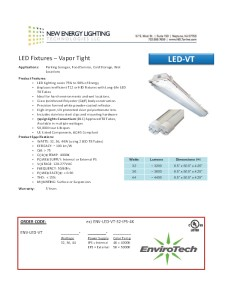 LED Indoor Lighting
